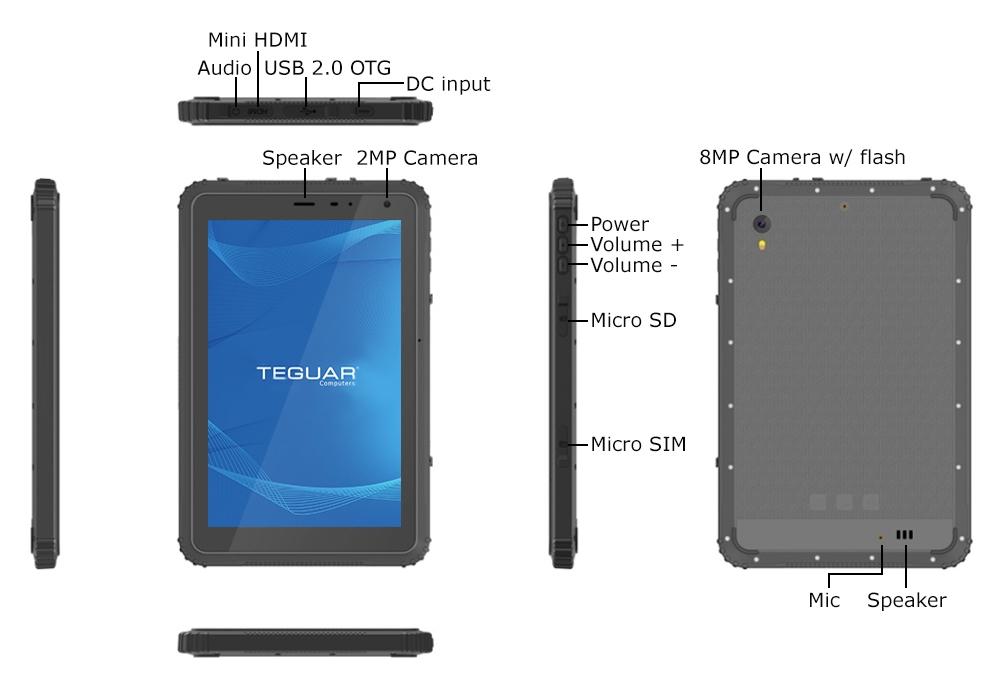 Rugged Tablet IOs