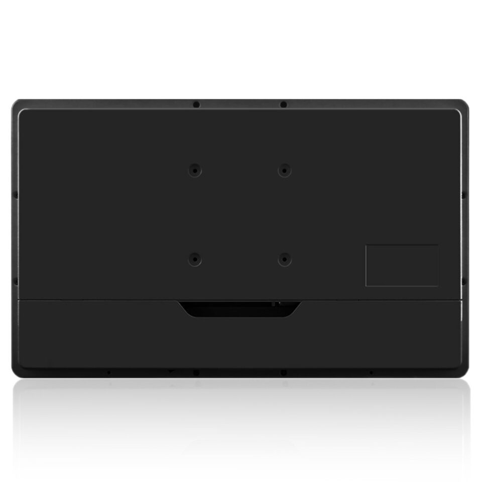 Fanless Industrial All-in-one PC back