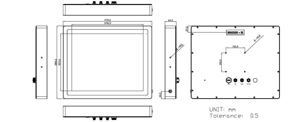 TSD-45-19 Technical Drawing