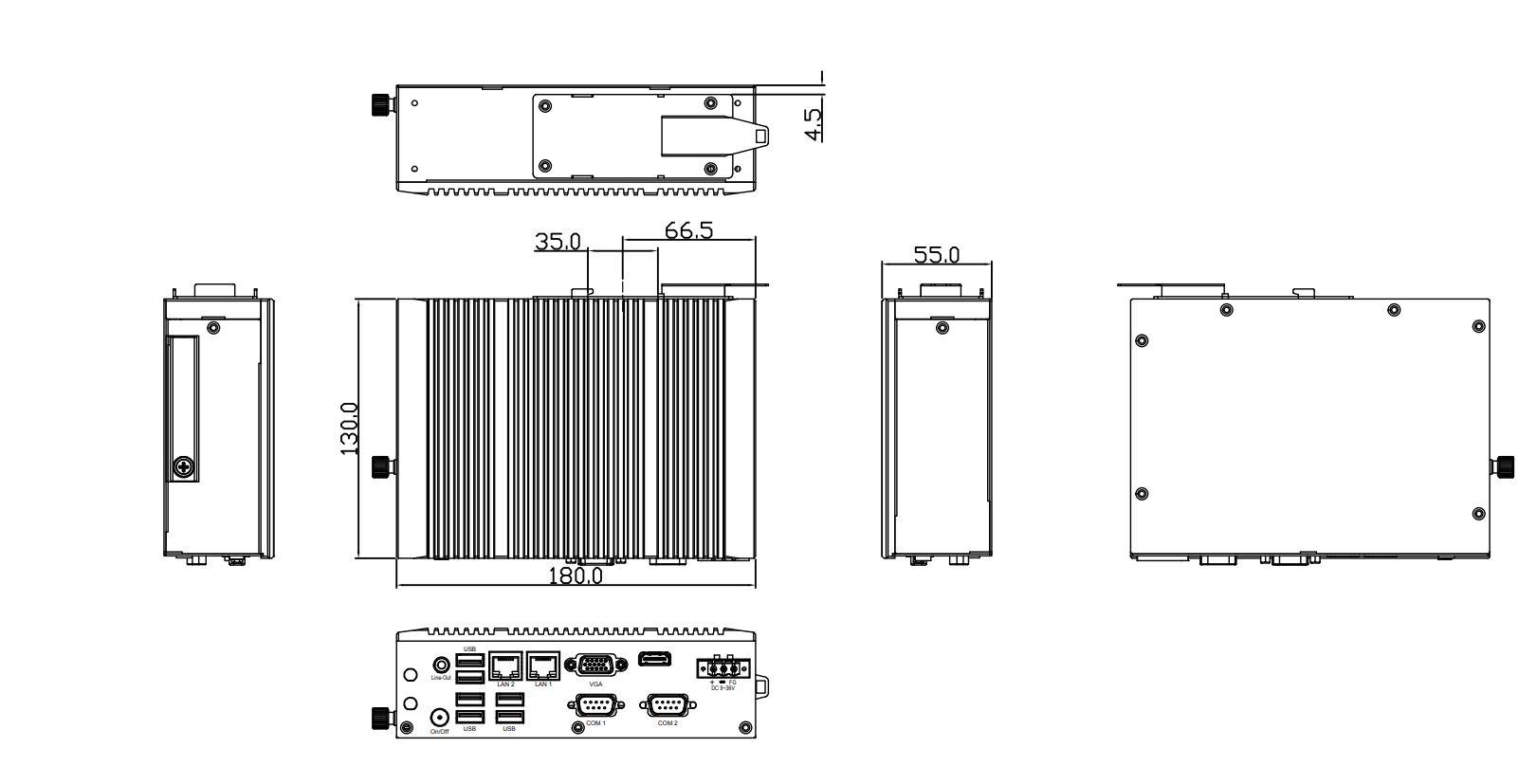 Box-PC-TB-2945-DIN-TechDraw