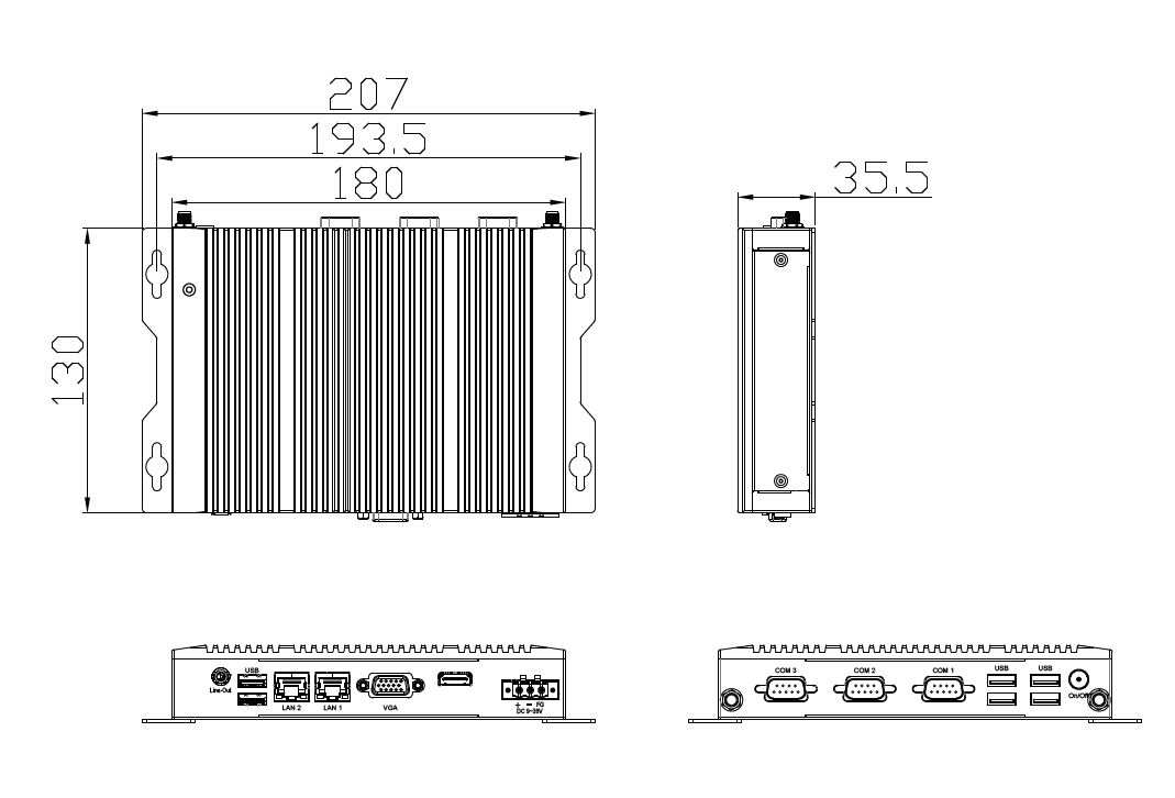 Box-PC-TB-2945-TechDraw