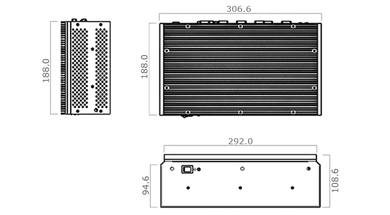 TMB-5010-PCIe TechDraw
