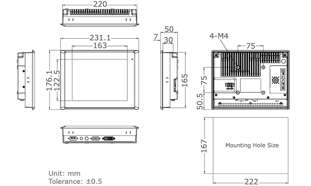 TD-45-08 Tech Drawing