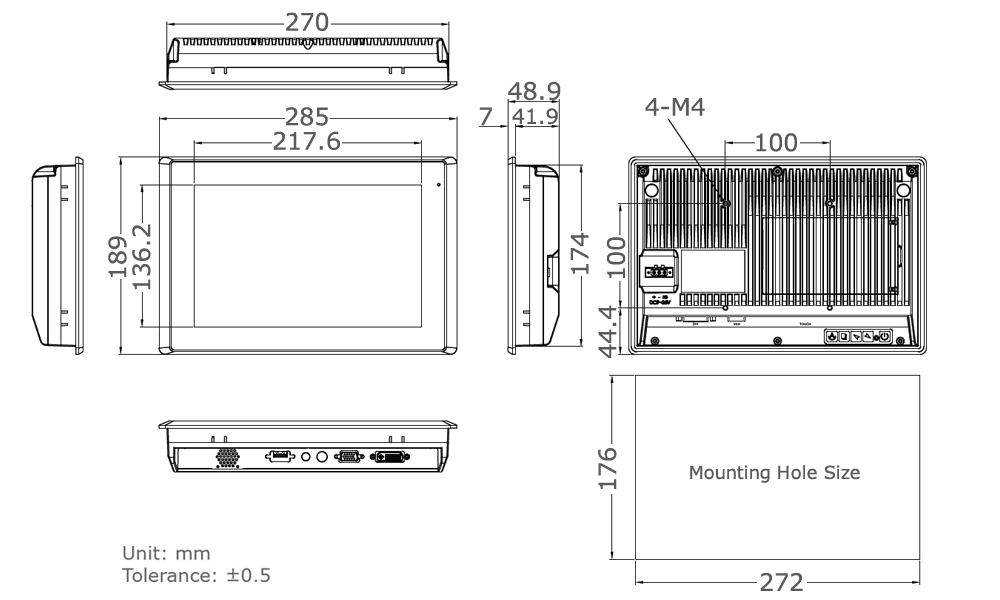 TD-45-10 Technical Drawing