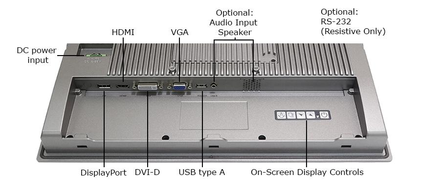 TD-45-16 Industrial Monitor IOs