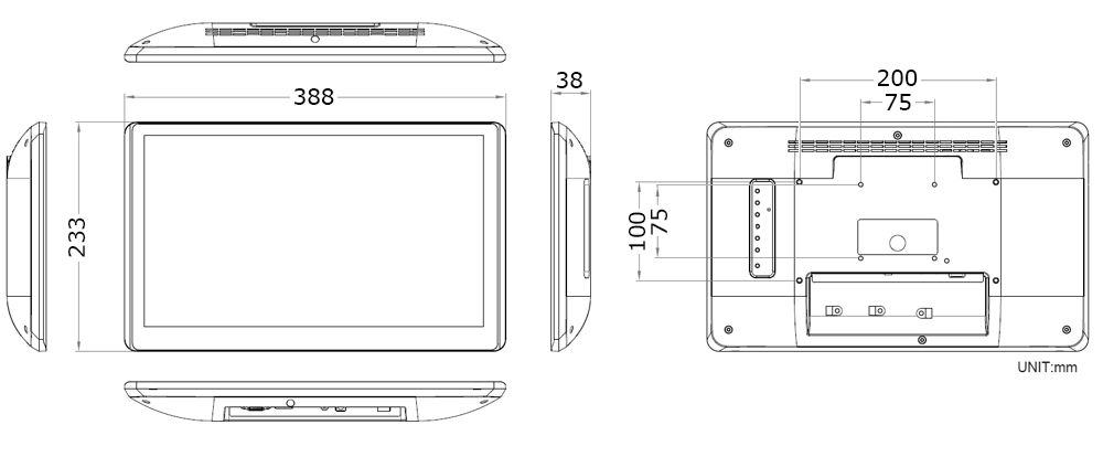 TMD-10-15 Technical Drawing