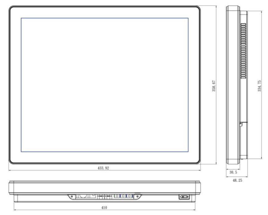 TP-5040-19M Medical Computer Drawing