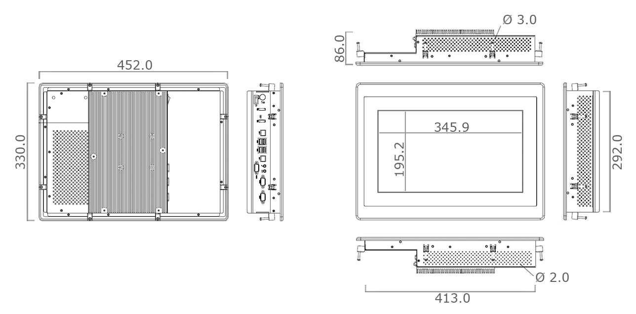 TP-5010-16 Technical Drawing