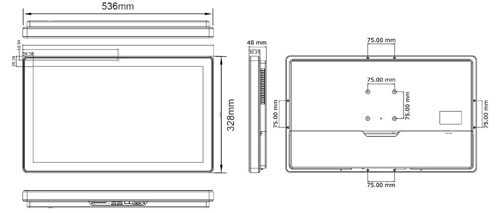 TP-4040-22 Technical Drawing