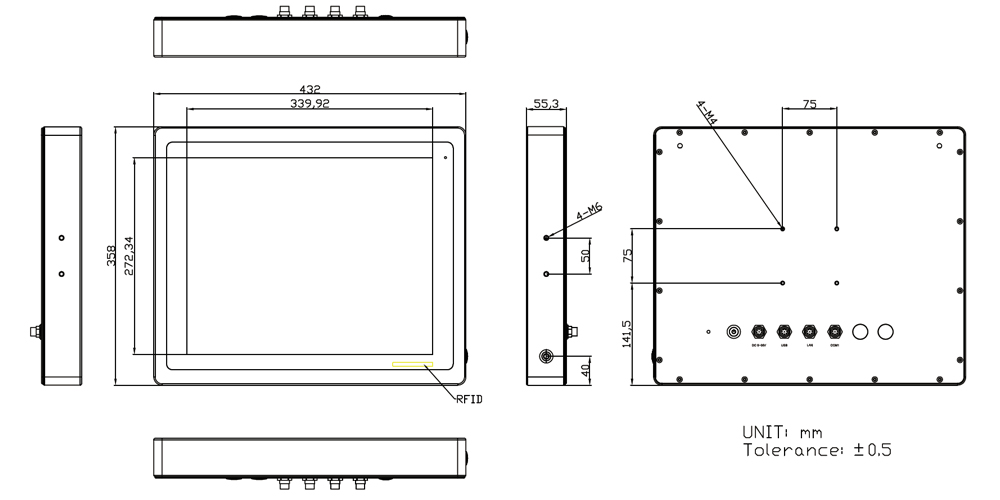 TP-2945-17 Technical Drawing