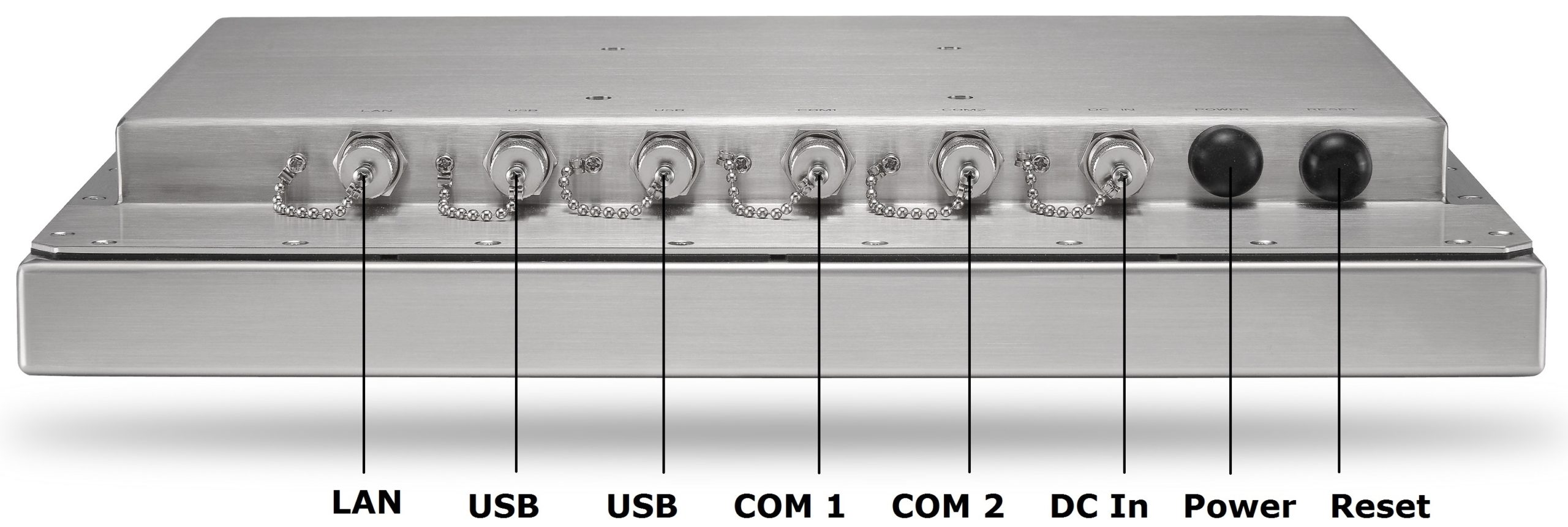Stainless Steel Computer Inputs Outputs TS-4010-15