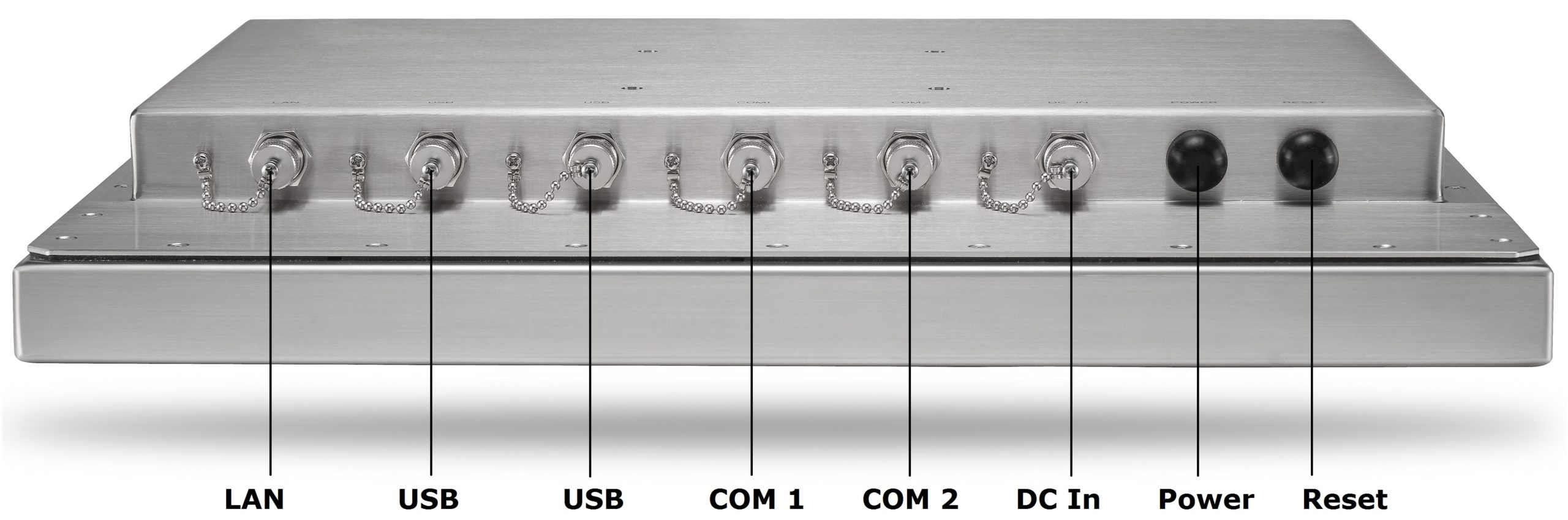 Stainless Steel Computer Inputs Outputs TS-4010-19