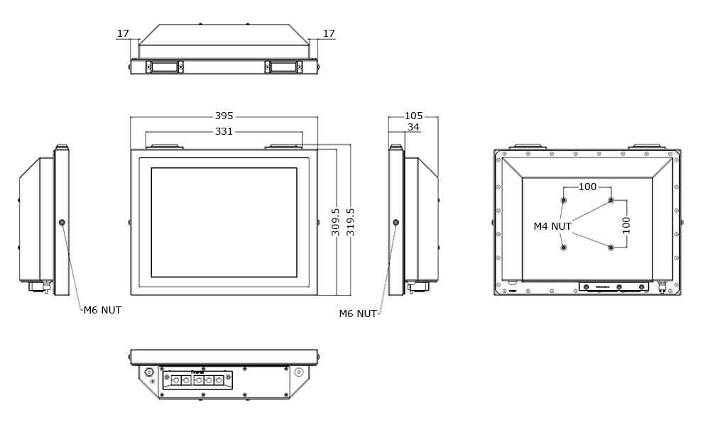 TSC-5010-15 Tech Drawing