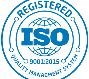 Registered ISO 9001:2015 Quality Management System