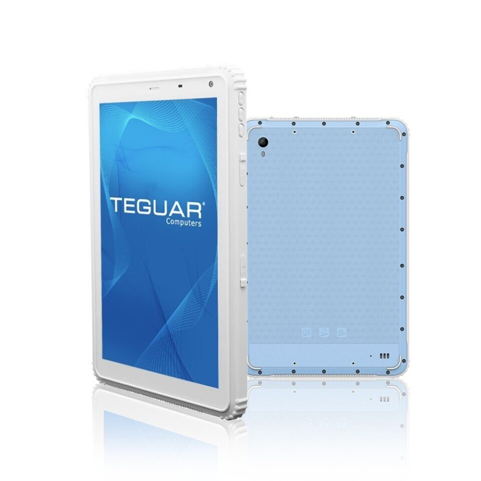 """10"""" Rugged Tablet in White 