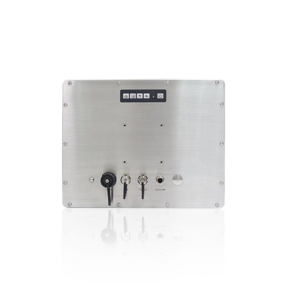 "12"" Waterproof Touch Screen Monitor | TSD-45-12"