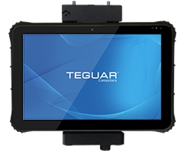 Teguar rugged tablet with 12 inch screen
