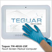 Teguar TM-4010-15P touch screen medical computer