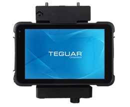 Teguar rugged tablet with 8 inch screen