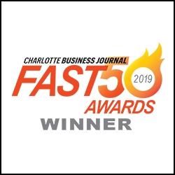 Charlotte Business Journal Fast 50 Awards Winner