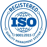 Registered ISO 9001:2015 Quality Management System logo
