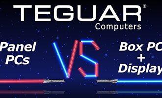 Teguar Computers, Panel PCs VS Box PC + Display