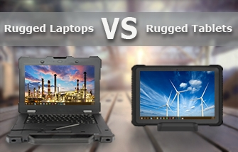 Rugged laptops vs. rugged tablets