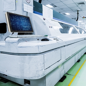 Teguar TP-5040-22-HMI installed in a manufacturing facility