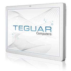 Teguar white medical computer