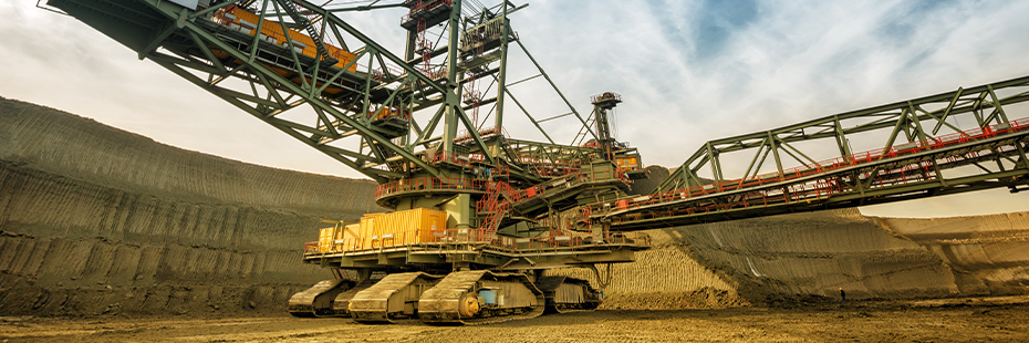 Heavy Machinery used in mining industry
