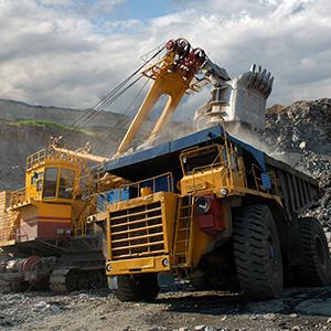 Heavy mining equipment