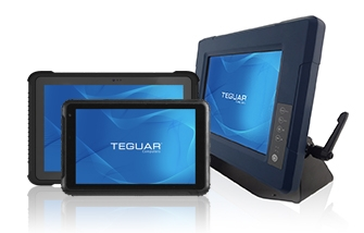 Two rugged tablets and an industrial computer from Teguar