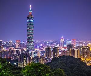 Taipei sky line