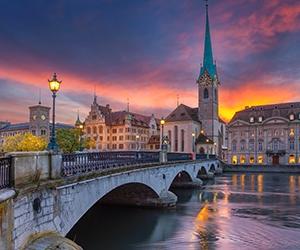 Zurich, Switzerland bridge
